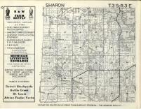 Sharon T3S-R3E, Washtenaw County 1957